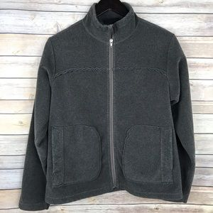 Patagonia Brown Zip Front Synchilla Jacket
